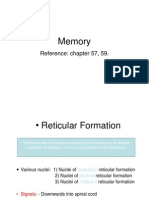 Memory Physiology