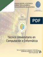 Tecnico Universitario en Computacion e Informatica i Cuatrimestre 2014