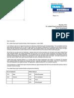 Save Liddell Road - open letter
