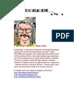 Alfabeto do Velho Oeste - Letra N - Super Ilustrado - Wilson Vieira – Caricatura