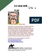 Alfabeto do Velho Oeste - Letra V - Super Ilustrado - Wilson Vieira – Caricatura