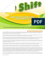 """""""'the Shift"""" - 7 Steps to Your Best Body and Your Best Life"""