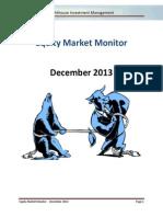 Lighthouse - Equity Market Monitor - 2013-12