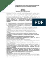 LEY No 57 de 1 de septiembre de 1978 Por la cual se reglamenta la profesión del Contador Público Autorizado El Consejo Nacional de Legislación