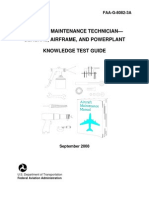 A&P Technician Airframe Faa Airmen Knowledge Test Guide | Flight