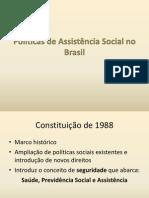Políticas de Assistência Social no Brasil.pptx