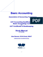 Basic Accounting Study Manual - 03.01.13
