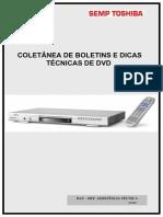 (2) COLETÂNEA DE BOLETINS E DICAS TÉCNICAS EM DVD TOSHIBA
