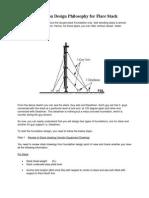 Foundation Design Philosophy for Flare Stack
