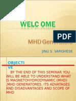 MHD generators