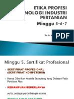 Etika Profesi 5-6-7