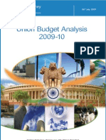 Budget Analysis Rel July09