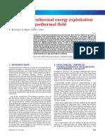 Analysis of geothermal energy exploitation on Karlovac geothermal field