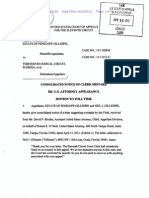 Notice-Clerk Mistake CA11 No. 12-11028 US Attorney on Docket