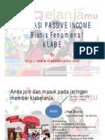 Ilustrasi Passive Income Klabe