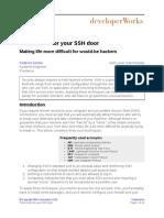Three Locks for Your SSH Door