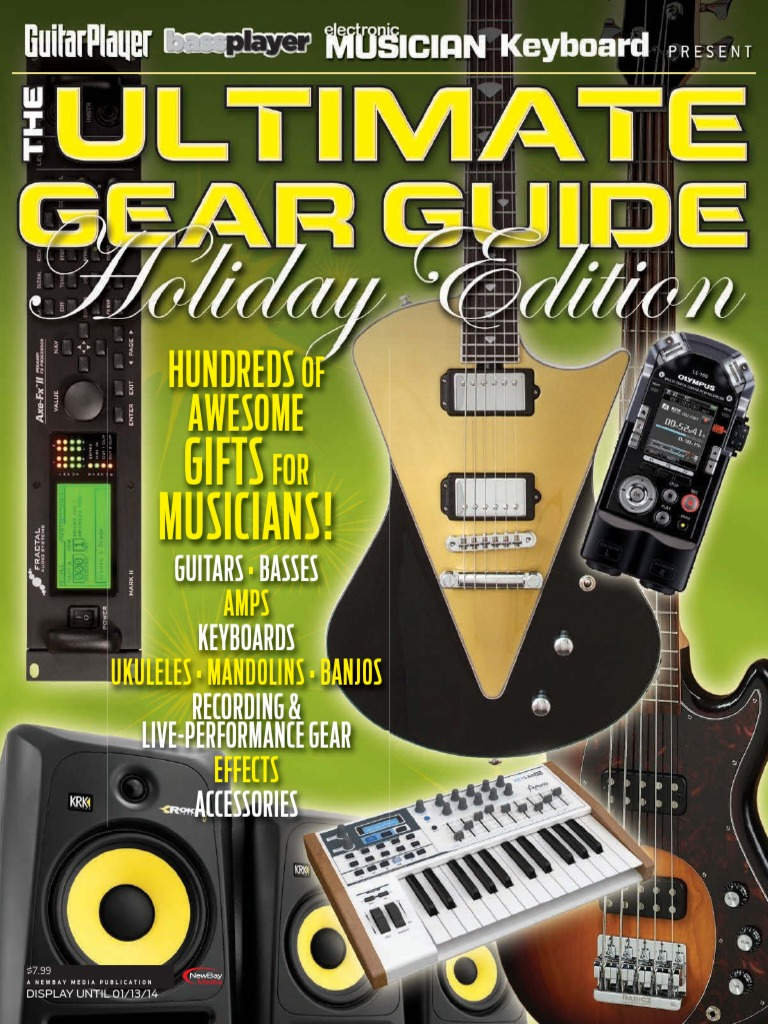 The Ultimate Gear Guide Holiday Edition 2013 Guitars Chordophones Gfs Pickup Wiring Diagram Humbucker Color Code Floyd