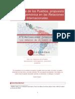 Diplomacia de Los Pueblos - 2009