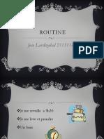 Routine 21151140 Francais