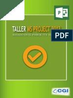 Brochure_Taller MS Project 2013 Basado en El PMBOK_CGI