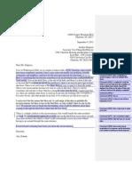 complaint letter workshopped by teacher