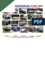 Catalogo Www Autosclasicos Com Mx Julio 2012