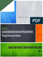 Resume Bahan Manajemen Keuangan Pemerintah