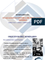 Evaluacion Estrategica de Operaciones Mineras