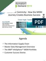 IBM InfoSphere MDM Overview v8 Final