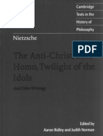 Nietzsche - Christ, Ecce Homo, Twilight of the Idols (CUP)