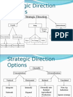 Strategic Choice and Directiopn