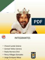 BURGER KING - Plan Estrategico