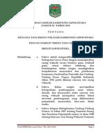 Peraturan Daerah Kabupaten Luwu Utara Nomor 02 Tahun 2011 Tentang Rencana Tata Ruang Wilayah Kabupaten Luwu Utara