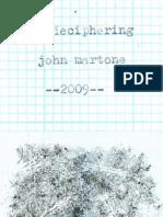 John Martone_ A Deciphering _ 2009