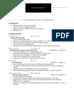 Resume1- Nicole Arnett