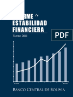 Informe de Estabilidad Financiera 2011