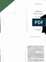 17852784 Robert Spaemann Personas Distincion Entre ALGO y ALGUIEN Cap I y II