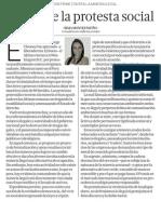 Abuso de la protesta social ( en el Perú ) - Irma Montes Patiño