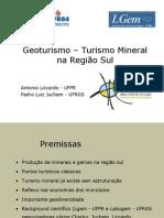 Turismo Mineral na região sul