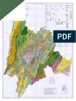 Mapa geologico cundinamarca