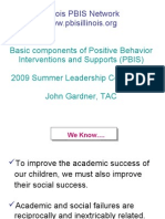 Basic Components of PBIS Gardner