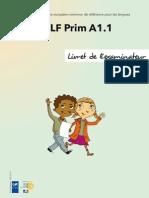 Exemple Sujet Delf Prim a1 1 Livret Examinateur