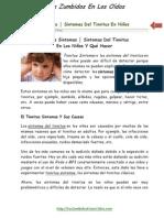 028   Tinnitus Sintomas │ Sintomas Del Tinnitus En Niños