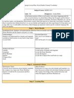 academic language lesson plan