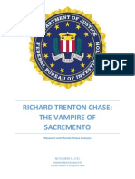 FBI Profile on Richard Trenton Chase