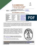 El Gambrisino 2013-10