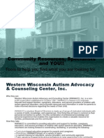 community resources specialists and you