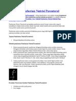Prosedur Pemberian Nutrisi Parenteral