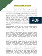 Procedimiento Romano de Las Legis Actiones -Slide Share