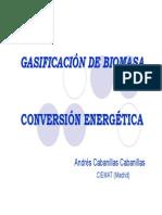 gasificacion I Andrés Cabanillas CIEMAT